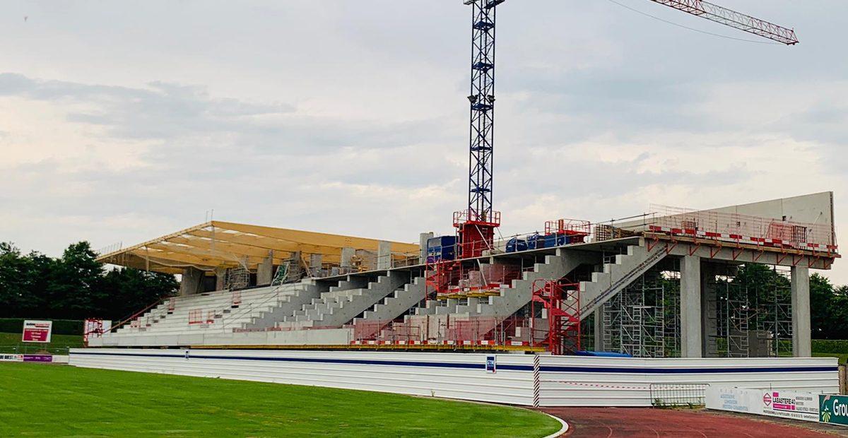 tribune stade maurice boyau